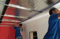 Manta Termica colocada 1 FACE / Contratando a colocação do forro PVC , APARTI