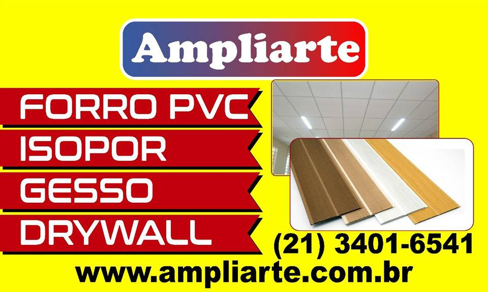 Atacadão/Forro pvc:R$8,40/Campo Grande. R.J.