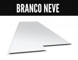 FORRO LISO JUNTA SECA  0,8mm x 0,20cm x 6,00mt BRANCO NEVE