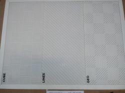 FORRO PVC ESTILO  BRANCO 600MT