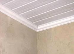 FORRO PVC COLOCADO [Acabamento Sanca PLUS] BRANCO