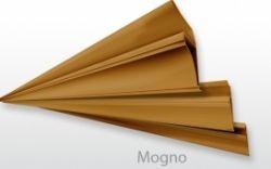 Acabamento PVC Sanca Mogno 6,00 MT
